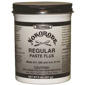 RectorSeal 14020 Nokorode 8 oz. Regular Paste Solder Flux Lead Free