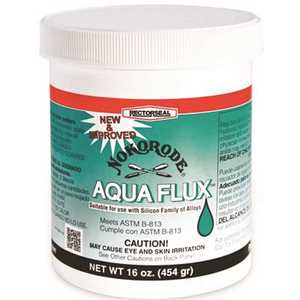 RectorSeal 74046 Nokorode 16 oz. Aqua Flux Lead Free Water Soluble Beige