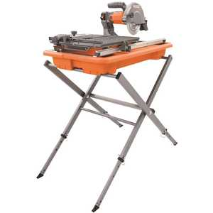 RIDGID R4030S 7 in. Tile Saw with Stand