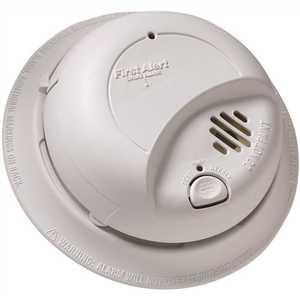 BRK Brands 9120LBL 10-Year Lithium Battery Ionization Sensor Smoke Alarm