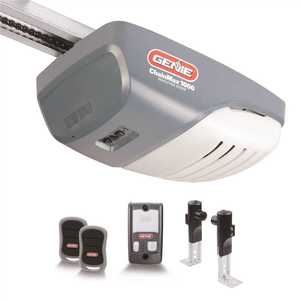Genie 3022-TV ChainMax 1000 - 3/4 HPc Durable Chain Drive Garage Door Opener- Supreme Lifting Power of a 140-Volt DC Motor