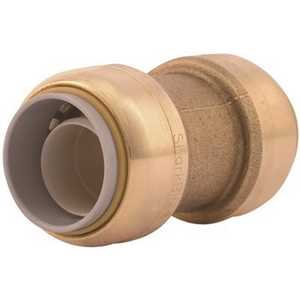 SharkBite U4016LF 3/4 in. Brass Push-to-Connect Polyethylene Conversion Coupling