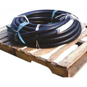 ENERCO 960055 1.25 in. x 200 ft. High Pressure Liquid Propane Gas Rubber Hose Coil