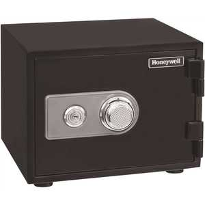 Honeywell Safety 2101 0.50 cu. ft. Fire Resistant Safe with Dual Combination and Key Lock Security
