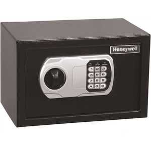 Honeywell Safety 5101DOJ Honeywell 0.27 cu. ft. Steel DOJ Approved Security Safe with Programmable Digital Lock