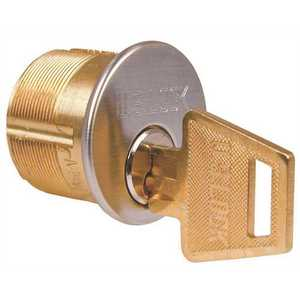 US Lock 7165KS2-25-KA2 Mortise Cylinder 1 in. Adams Rite Cam Kw1 Keyway Chrome Ka2