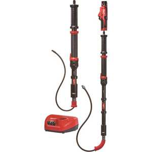 Milwaukee 2577-21 M12 Trap Snake 12-Volt Lithium-Ion Cordless 4 ft. and 6 ft. Auger Drain Cleaning Combo Kit (2-Tool)