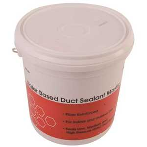 Diversitech 800-009 1 Gal. Airlock 181 Fiber-Reinforced, Water Based Duct Sealant Mastic White