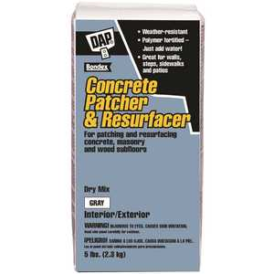 DAP 10466 5 lbs. Gray Concrete Patcher and Resurfacer
