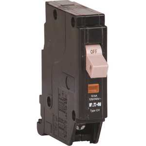 Eaton CHF120 CH 20 Amp 1-Pole Circuit Breaker with Trip Flag
