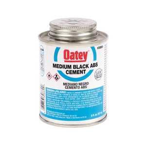 Oatey 308893 8 oz. ABS Cement in Black