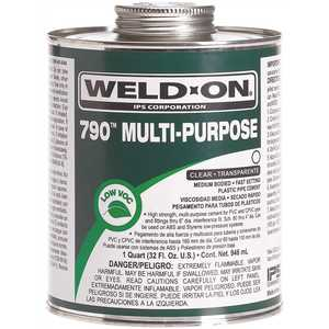 IPS Corporation 10260 Multi-Purpose Weld On Cement 1/4 Pint Clear