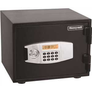 Honeywell Safety 2111 0.50 cu. ft. Fire Resistant Safe with Dual Digital and Key Lock Security