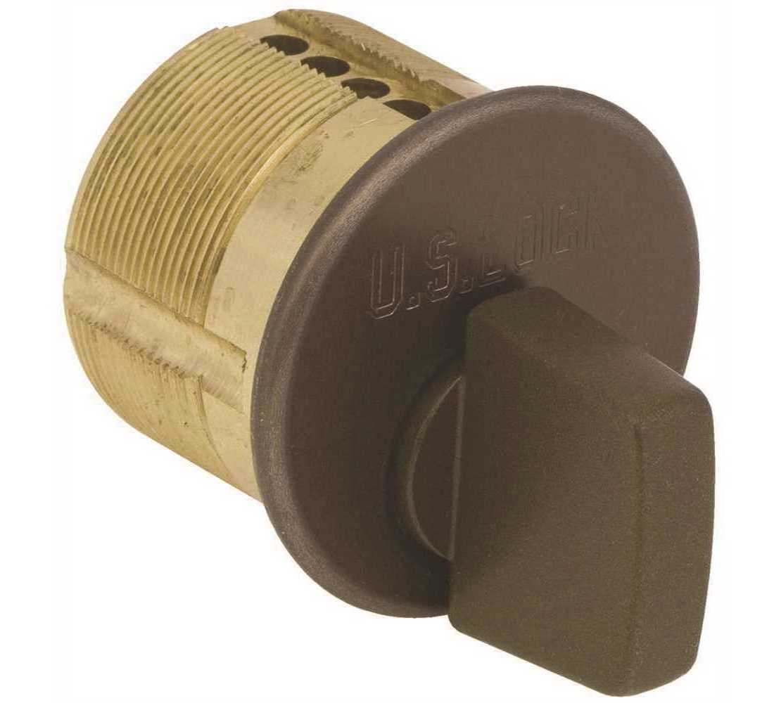 "T-Turn Mortise Lock Cylinder 1/"" for Store Front Door Adams Rite Lock Thumb Turn"