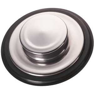 InSinkErator STP-SS Sink Stopper in Stainless Steel for InSinkErator Garbage Disposals