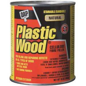 DAP 21506 Plastic Wood 16 oz. Natural Solvent Wood Filler