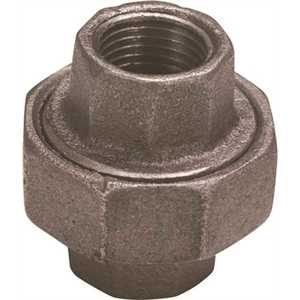 Proplus 45129 1-1/4 in. Black Malleable Union