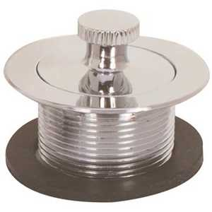 Proplus 173132 2.44 in. x 2.44 in. Lift-and-Turn Tub Drain Color/Finish Family