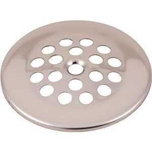 Proplus .173104 2-7/8 in. Bathtub Drain Strainer in Brushed Nickel