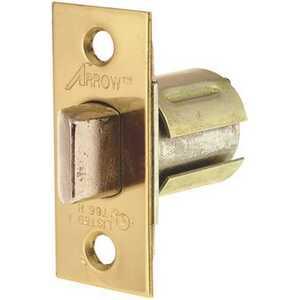 Arrow Lock 271-3 Sierra Springlatch 2-3/8 in. BS Flat Face Brass