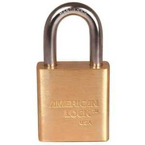 American Lock A5560KA XJ12 1-3/4 in. Padlock Solid Brass Body KAA