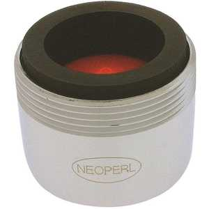 NEOPERL 5403703 Perlator 2.2 GPM 15/16 in. 27 x 55/64 in. 27 Regular Dual Thread Faucet Aerator Chrome
