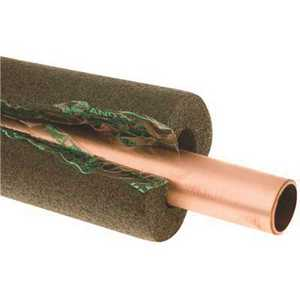 Frost King S12XB/6 1 in. x 3/8 in. Thick Wall x 6 ft. Self Seal Tubular Poly Foam Pipe Insulation