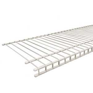 ClosetMaid 4719 SuperSlide 12 ft. x 12 in. Ventilated Wire Shelf White Pack of 6