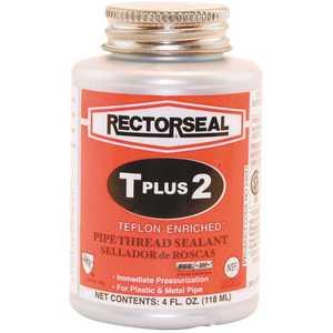 RectorSeal 23631 T Plus 2 in. 4 oz. Teflon Pipe-Thread Sealant