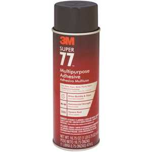 3M 77-24 16.75 oz. Super 77 Multi-Purpose Spray Adhesive