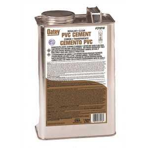 Oatey 31016 128 oz. PVC Cement