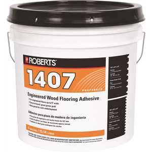 Roberts 1407-4 4 Gal. Engineered Wood Flooring Glue Adhesive
