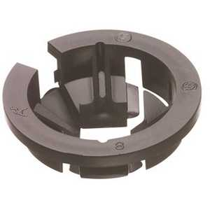 Arlington Industries NM94 1/2 in. Arlington Black Button Non-Metallic Push-In Connector - pack of 250