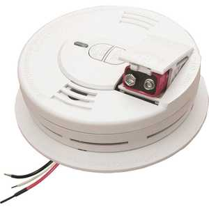 Sentinel 21009475 Hardwire Smoke Detector with 9-Volt Battery Backup, Adapters, Ionization Sensor, Test/Hush Button