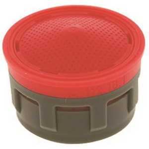 NEOPERL 5403905 Perlator 2.2 GPM Regular Insert with Washers Red/gray