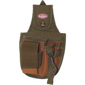Bucket Boss 54120 5-Pocket 6 in. Rear Guard with Flap Fit Holster