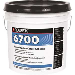 Roberts 6700-4 4 Gal. Indoor/Outdoor Carpet and Artificial Turf Adhesive