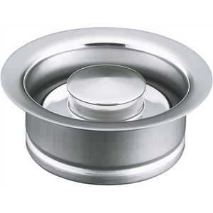 Kohler K-11352-CP Disposal 4.5 in. Flange with Stopper in Polished Chrome