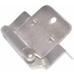 Richelieu Hardware BP139195 Brushed Nickel Semi-Concealed Hinge
