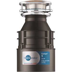 InSinkErator BADGER 5 1/2 HP Badger 5 Continuous Feed Garbage Disposal