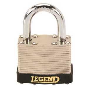 Legend 808014 Laminated Steel Padlock