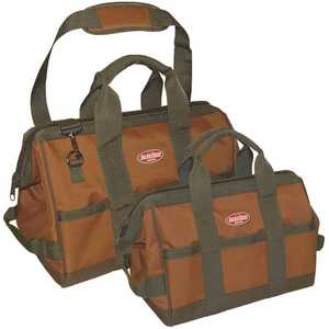 Bucket Boss 60028 Gatemouth Combo 12 in. and 16 in. Tool Bag