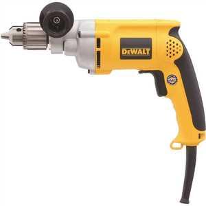 DEWALT DW235G 7.8 Amp 1/2 in. Variable Speed Reversing Drill Yellow
