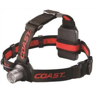 COAST HL5 HL5 175 Lumen LED Headlamp with Hardhat Compatibility