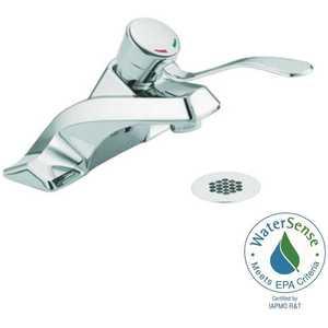 Moen 8425 M-Bition 4 in. Centerset 1-Handle Bathroom Faucet in Chrome