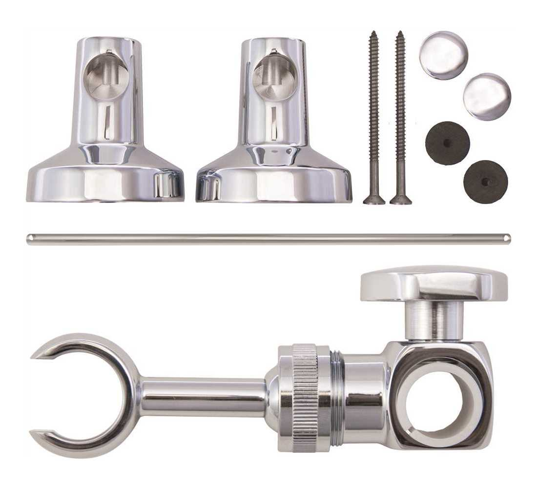 Moen 101629 Commercial Adjustable 30 In Slide Bar With Attaching Hardware In Chrome