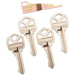 Kwikset 10119 4 CUT KEY Random Cut Keys