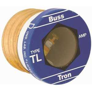 Cooper Bussmann TL-15 125-Volt 15 Amp TYPE TL Time Delay Glass Plug Fuse - pack of 4