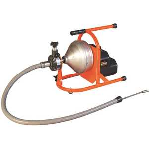GENERAL WIRE SPRING DRZ-PH-B General's Model Drz Drain Cleaner, with 50 ft. x 5/16 in. Cable and Cutter Set