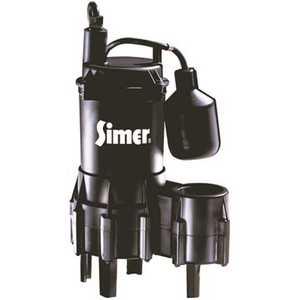 SIMER 2961 4/10 HP Submersible Sewage Pump